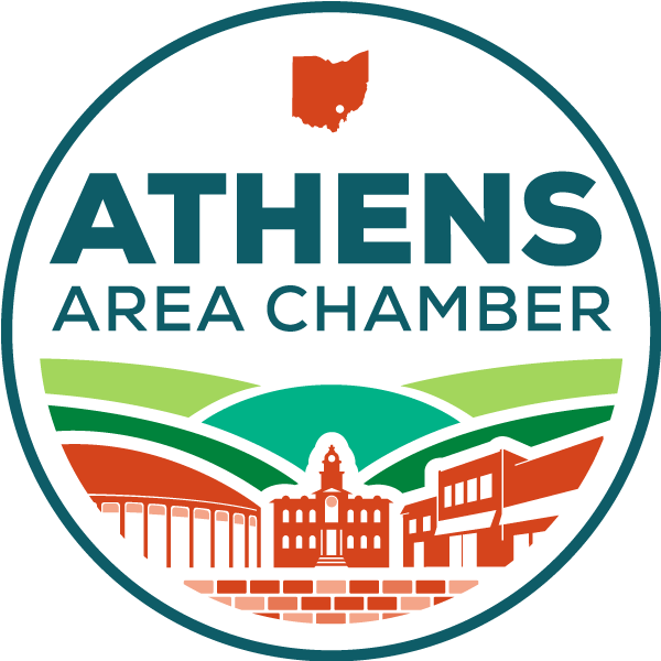 Athens Area Chamber of Commerce logo.